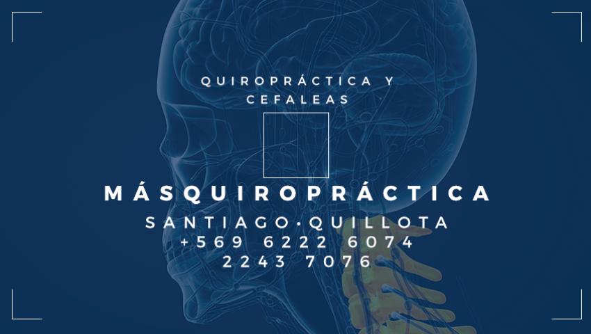 Quiropractica, cefaleas,quiropraxia, quiropractica providencia, dolor de cabeza